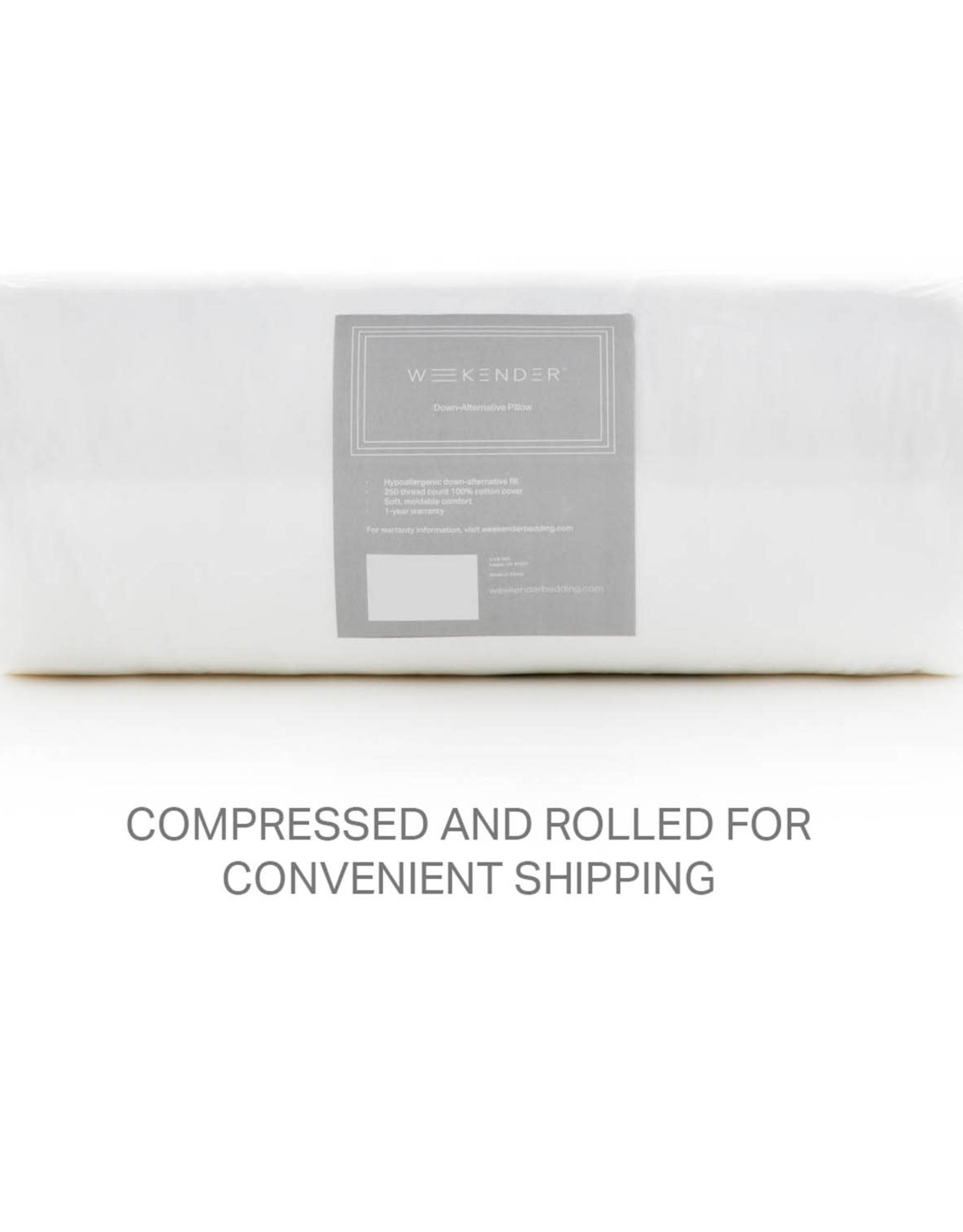 Down Alternative Pillow (For Stomach Sleepers)
