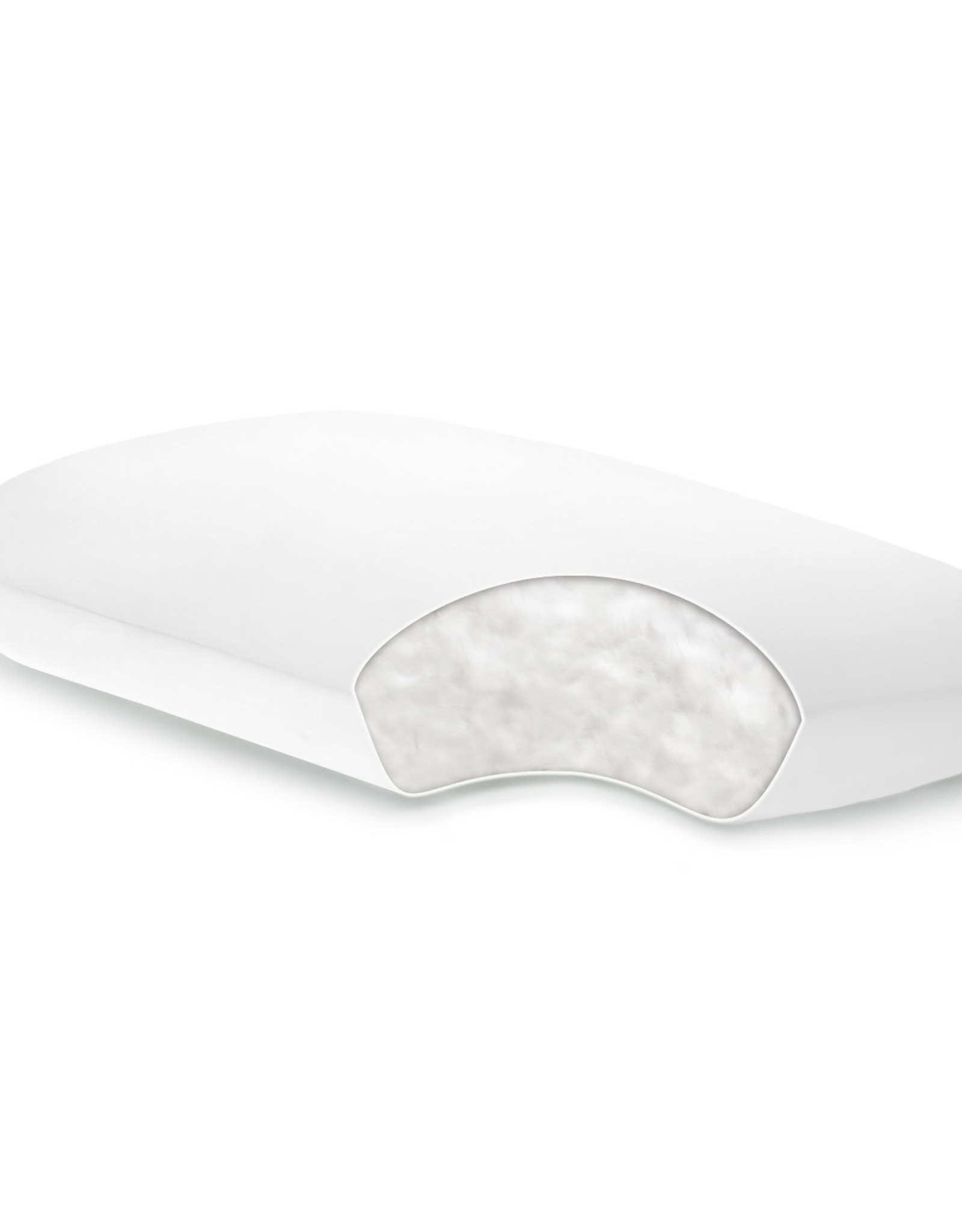 Gelled Microfiber Pillow (For Stomach Sleepers)