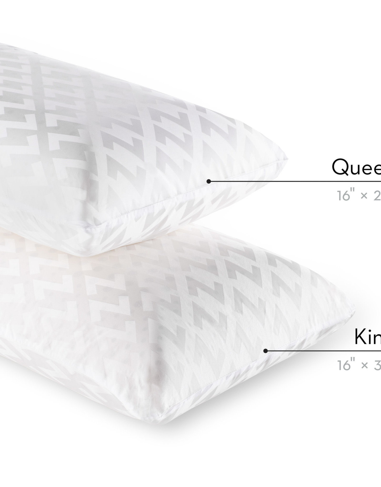 Low Loft Dough Pillow (For Back Sleepers)