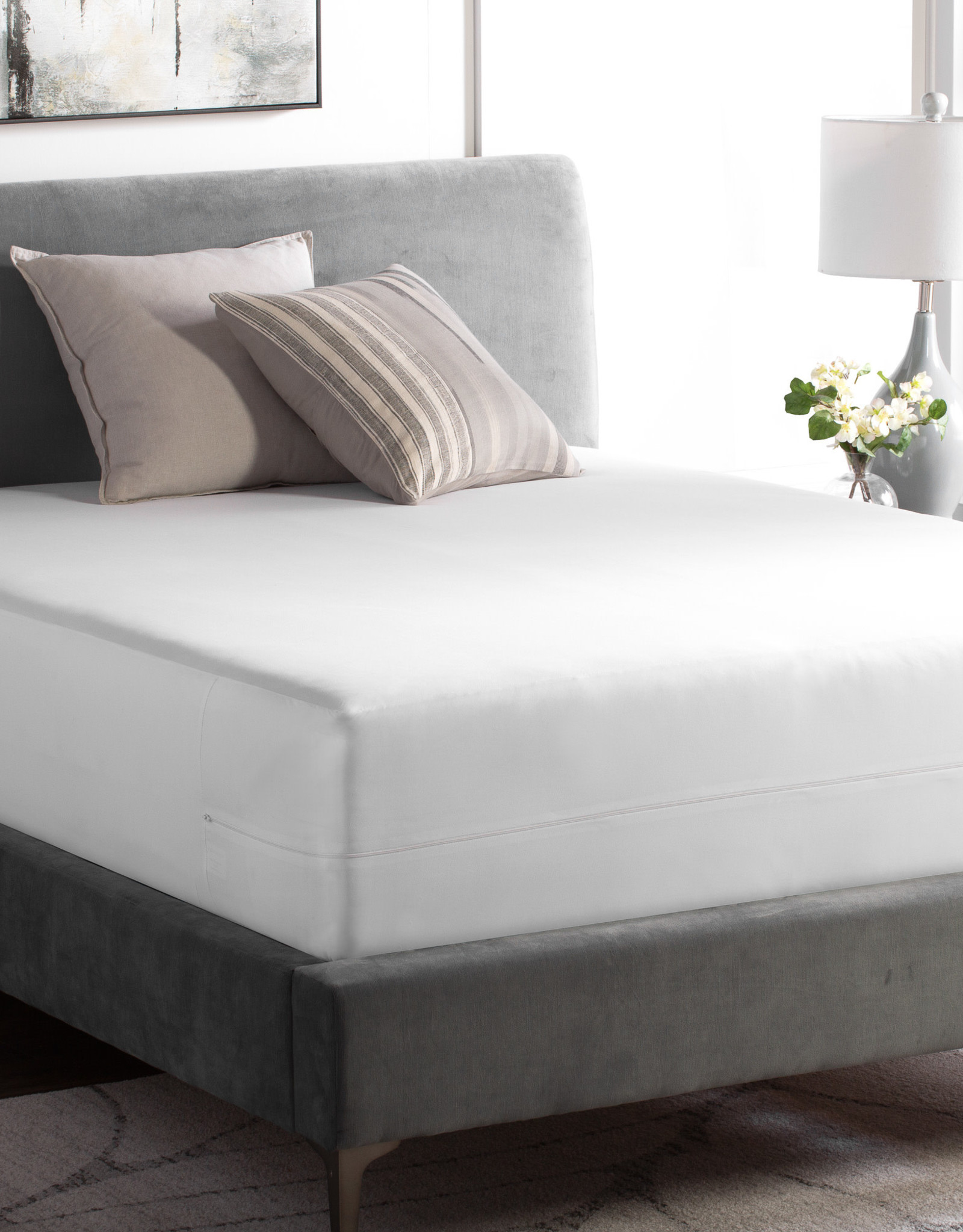 Zippered Encased Mattress Protector