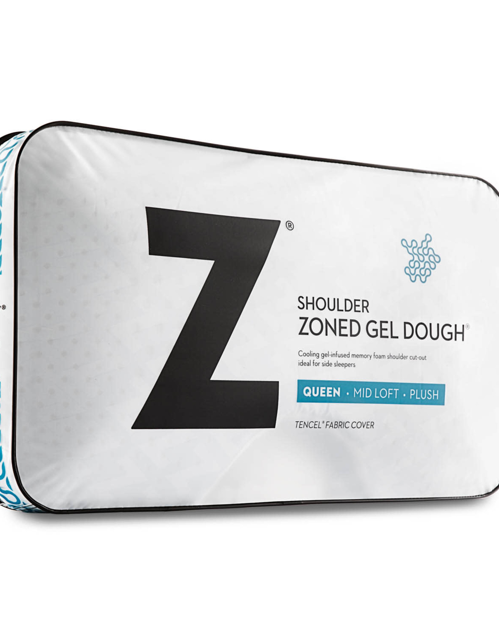 Shoulder Cutout Zoned Gel Dough Pillow (For Side Sleepers)