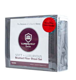 Premium Microfiber Sheet Set (Gray)