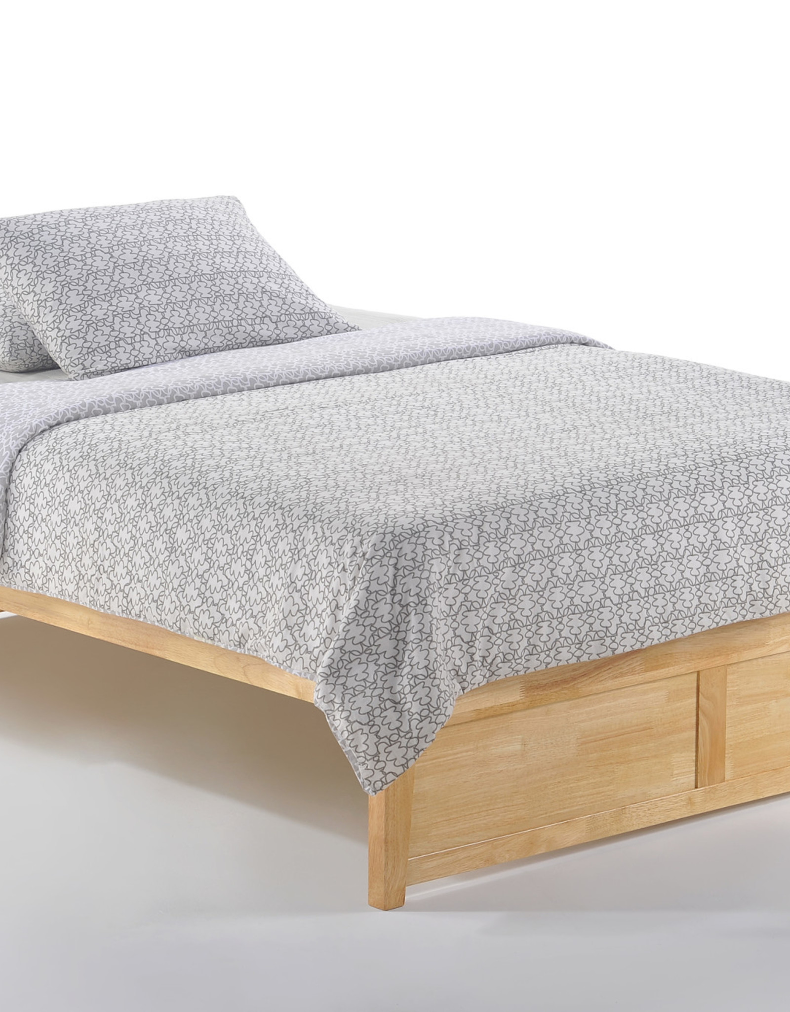 Tall Basic Platform Bed - Comes in Four Colors