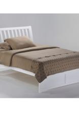 Nutmeg Platform Bed - Comes in Five Colors