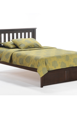 Rosemary Platform Bed - Comes in Five Colors