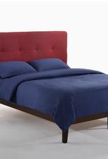 Paprika Platform Bed - Comes in Four Colors