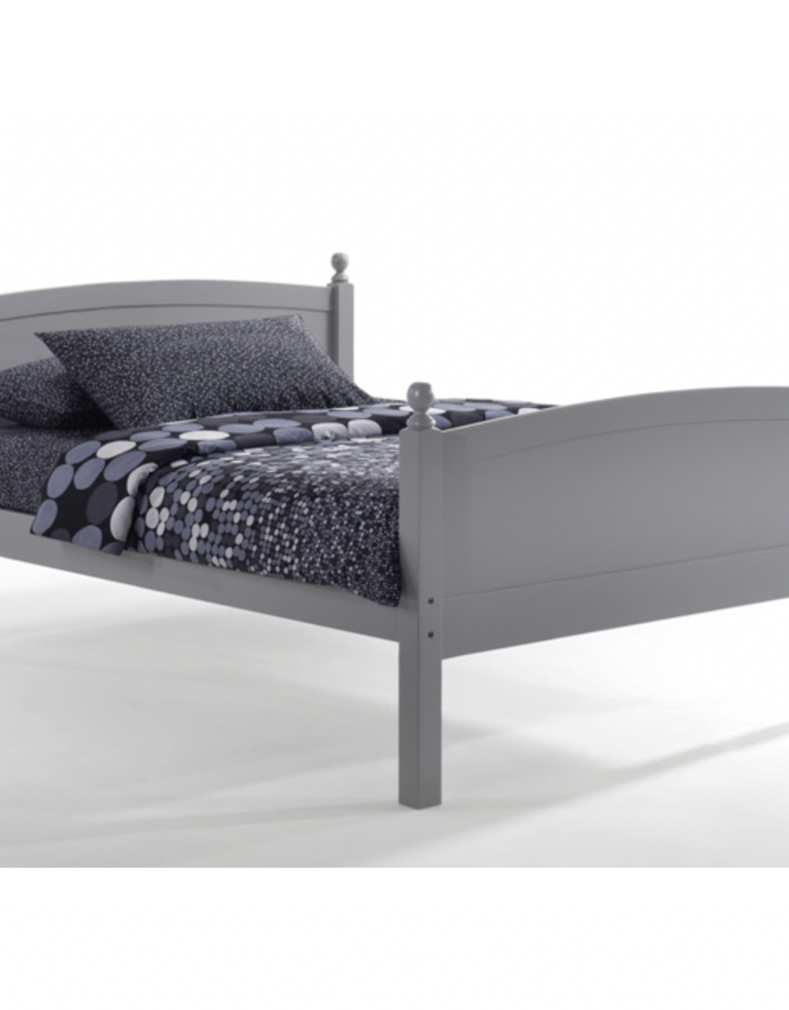 Licorice Platform Bed - Comes in Four Colors
