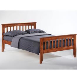 Sasparilla Platform Bed - Comes in Four Colors