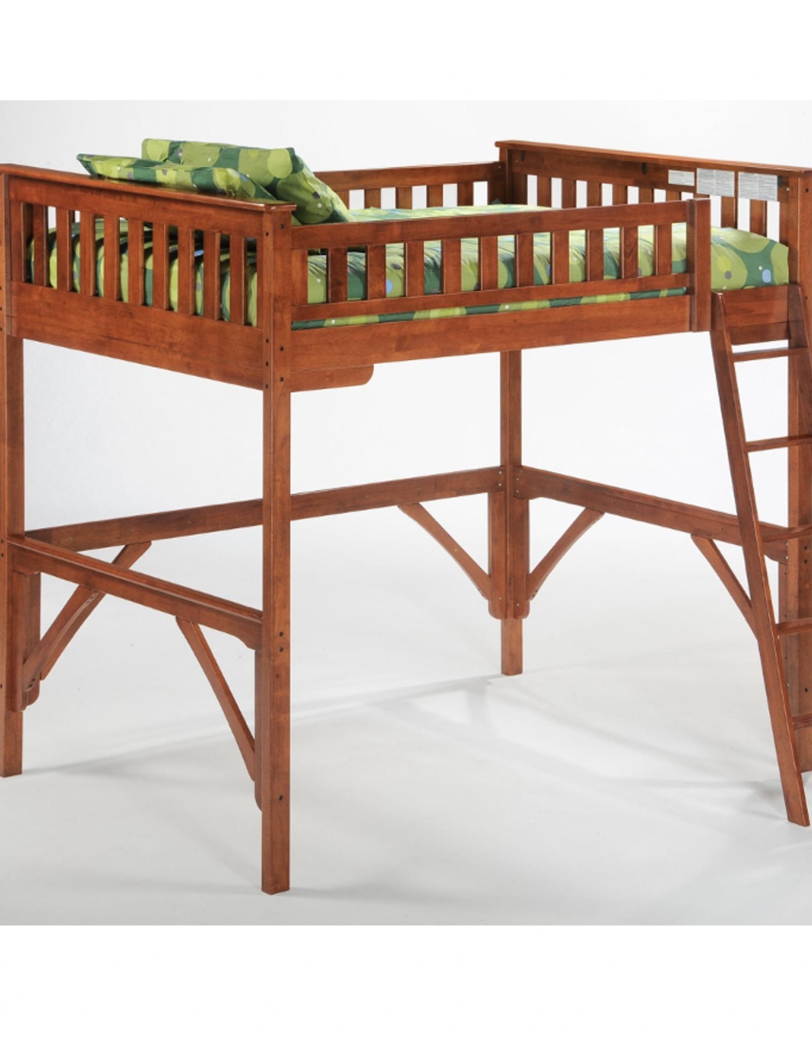 Full Loft Bunk Bed
