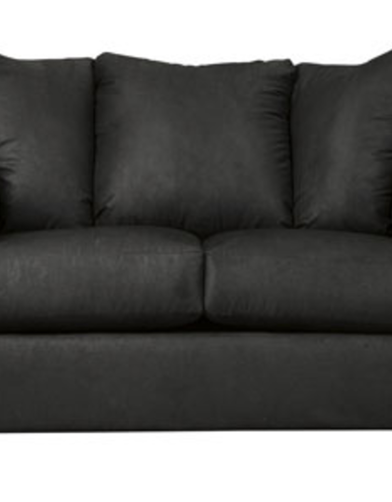 Black Darcy Loveseat  Clearance