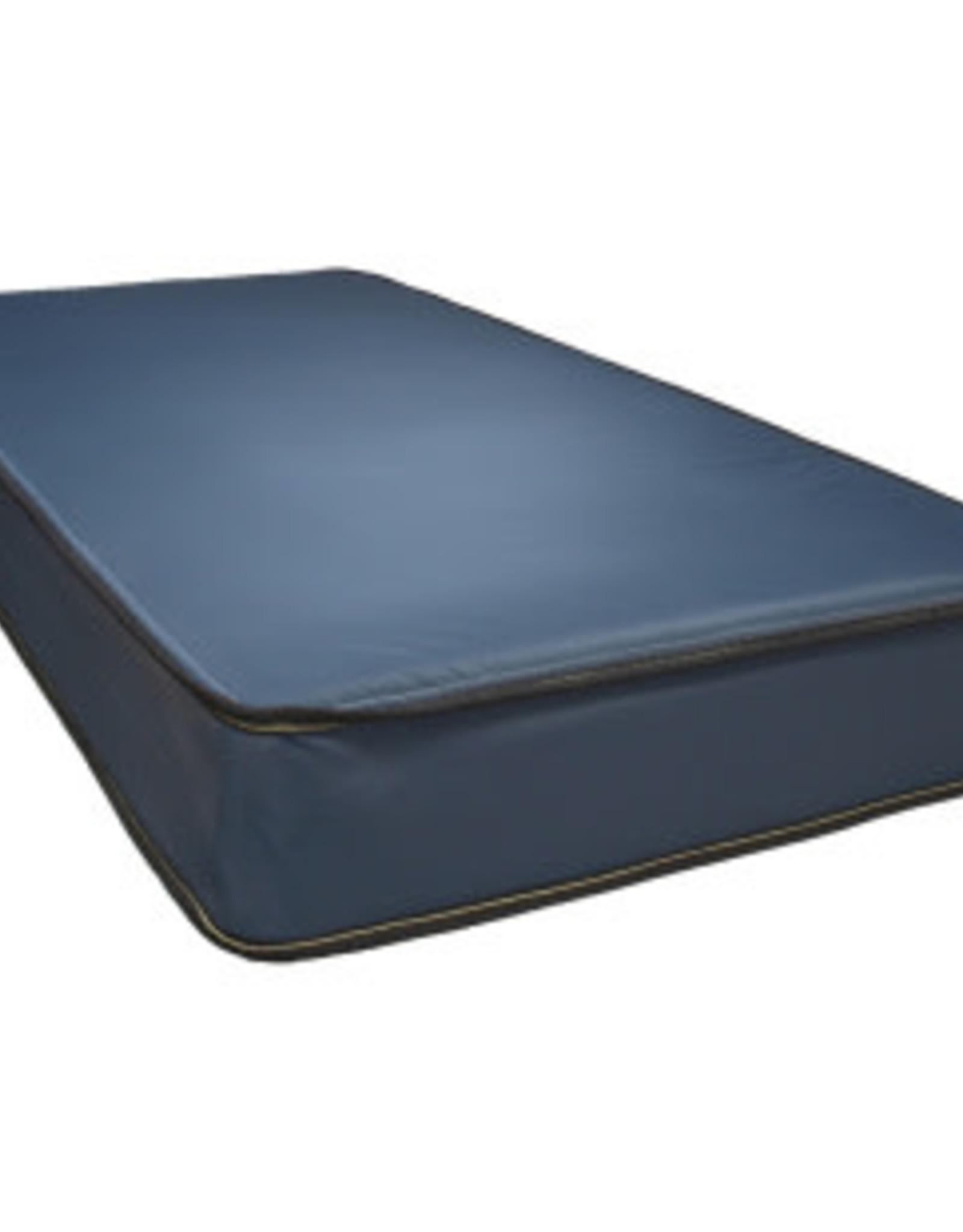 Blue Nylon Water Resistant Mattress