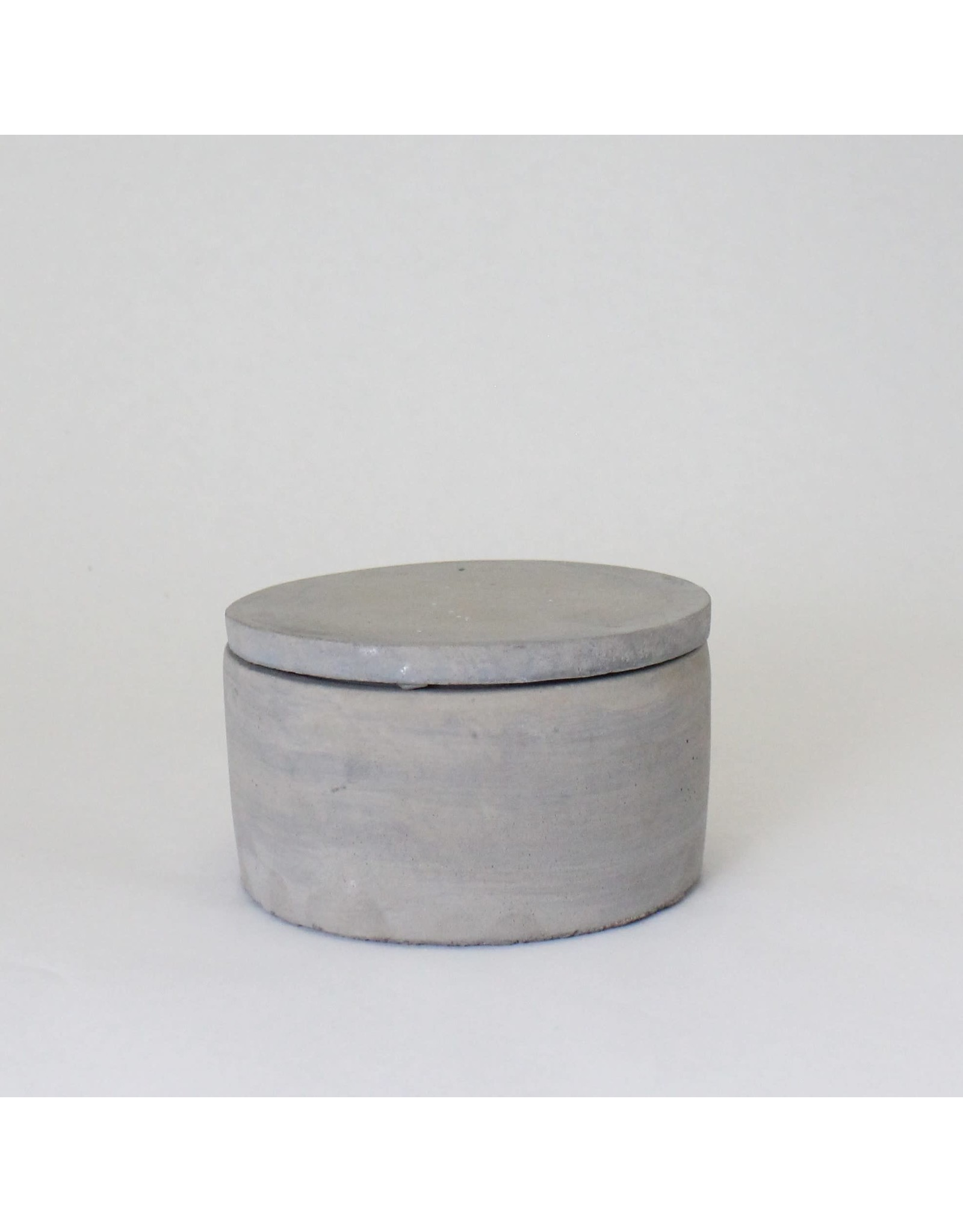 Concrete Box with Lid, Large