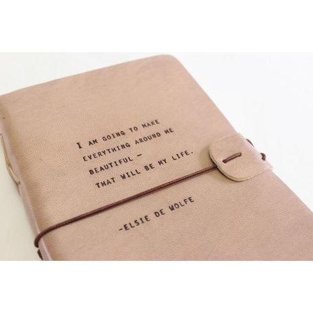 Artisan Journal-Elsie De Wolfe