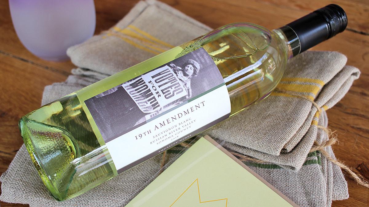 Equality Vines 19th Amendment Sauvignon Blanc