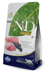 Farmina N&D Farmina N&D Prime Lamb & Blueberry Adult Cat Food 3.3Lb