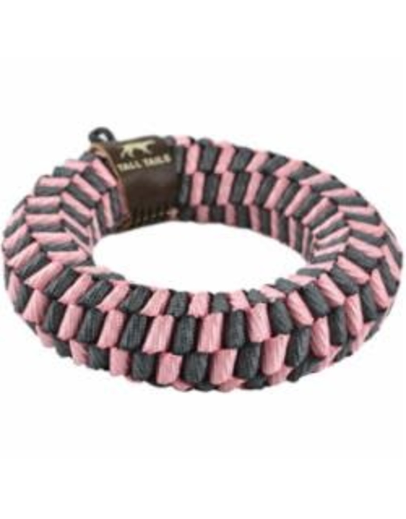 """Tall Tails Tall Tails Dog Braided Ring 6"""" Pink"""