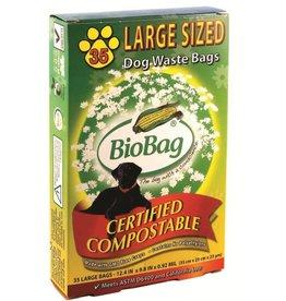 Bio Bag Bio Bag Compostable Dog Waste Bag LG 35ct