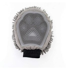Midlee Designs Midlee Deluxe Quick Dry Microfiber Grooming Mitt