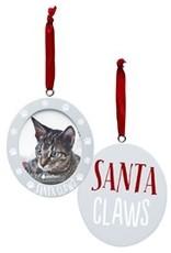 Pearhead Pearhead Santa Claws Photo Ornament