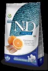 Farmina N&D Farmina N&D Ocean Herring & Orange Adult Med/Maxi Dog Food 5.5lb