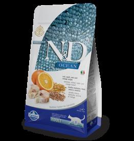 Farmina N&D Farmina N&D Ocean Cod, Spelt, Oats & Orange Adult Cat Food 3.3lb