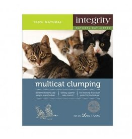 Integrity Integrity Natural Multi Cat Clumping Clay Litter