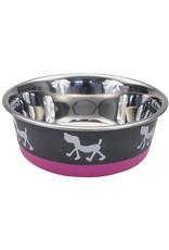 Coastal Pet Products Maslow Non-Skid Pup Design Dog Bowl