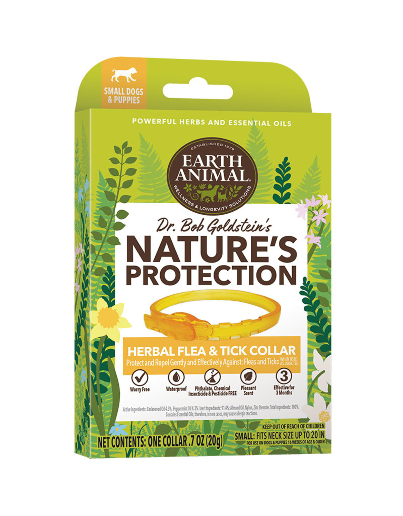 Earth Animal Earth Animal Nature's Protector Herbal Flea & Tick Collar for Dogs