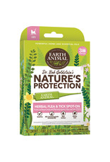 Earth Animal Earth Animal Nature's Protector Herbal Flea & Tick Spot-On for Cats