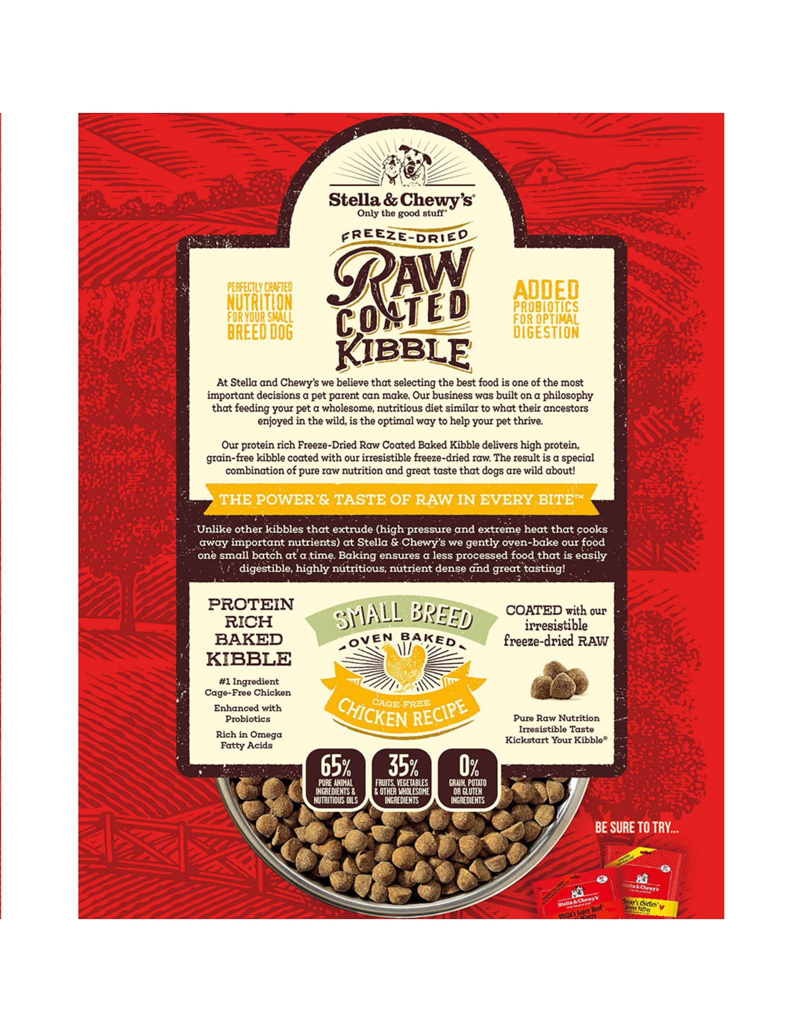 Stella & Chewy's Stella & Chewy's Small Breed Raw Coated Cage-Free Chicken Recipe Dog Food