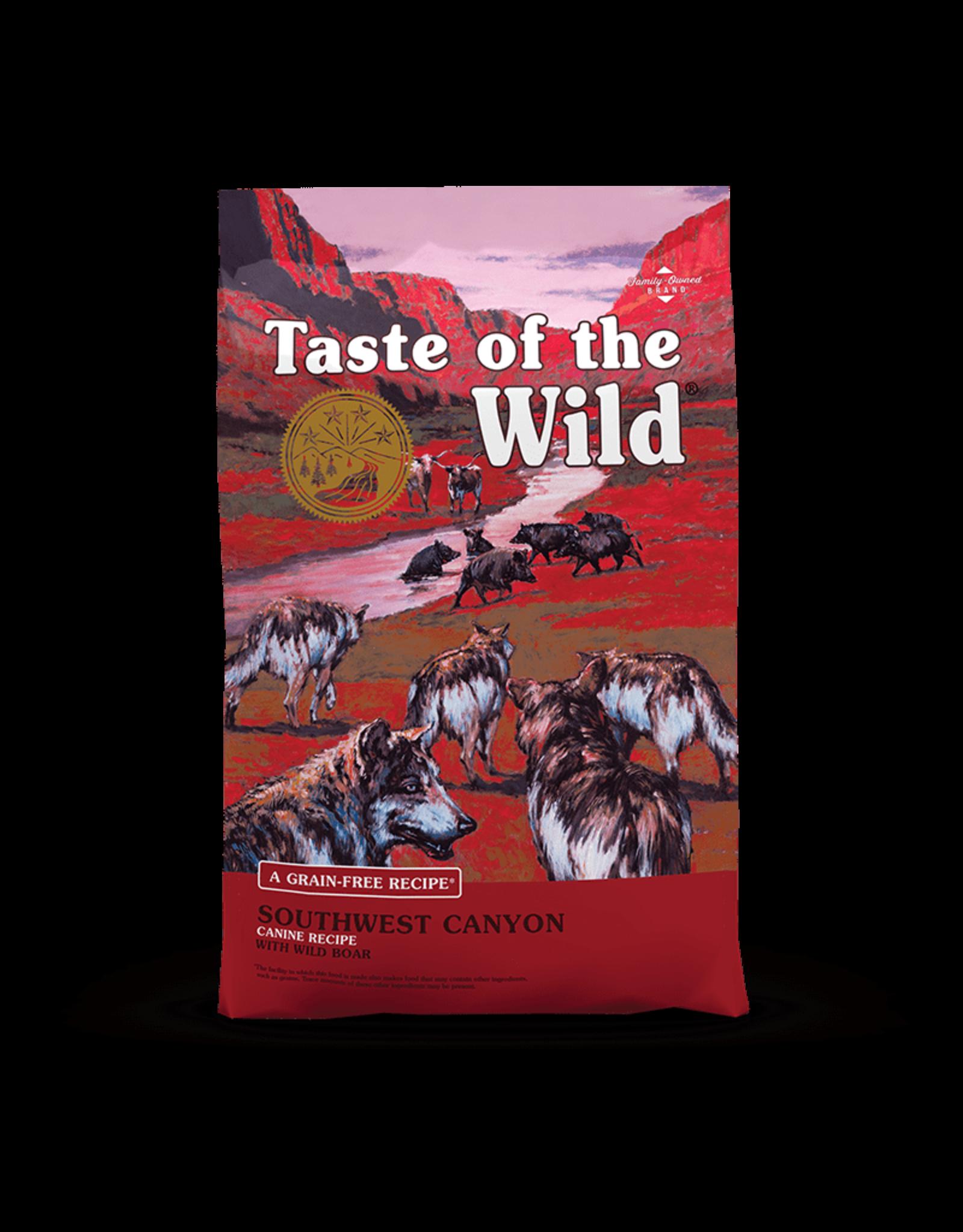 Taste of the Wild Taste of the Wild Southwest Canyon Grain-Free Canine Recipe