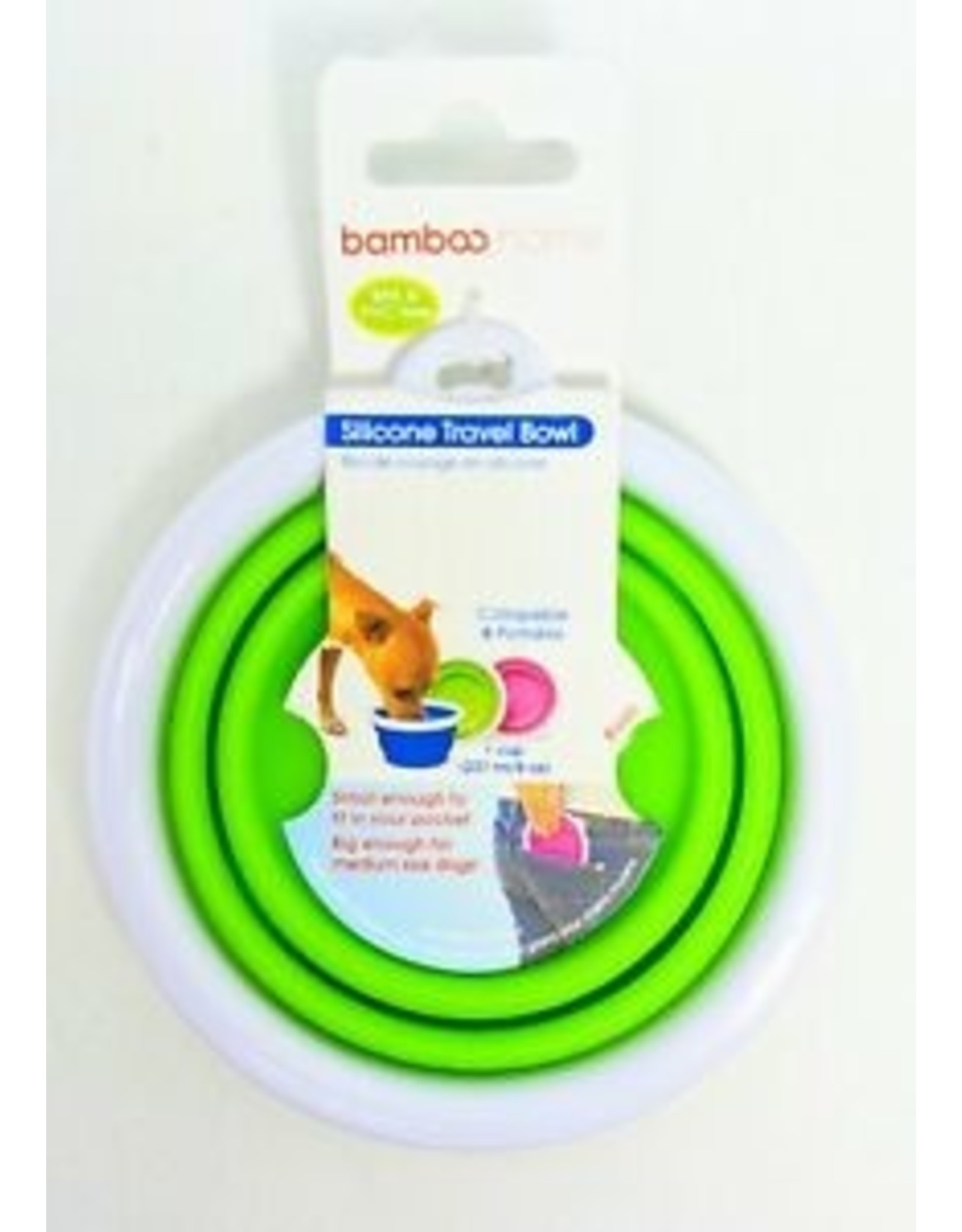 Bamboo Bamboo Silicone Travel Cup