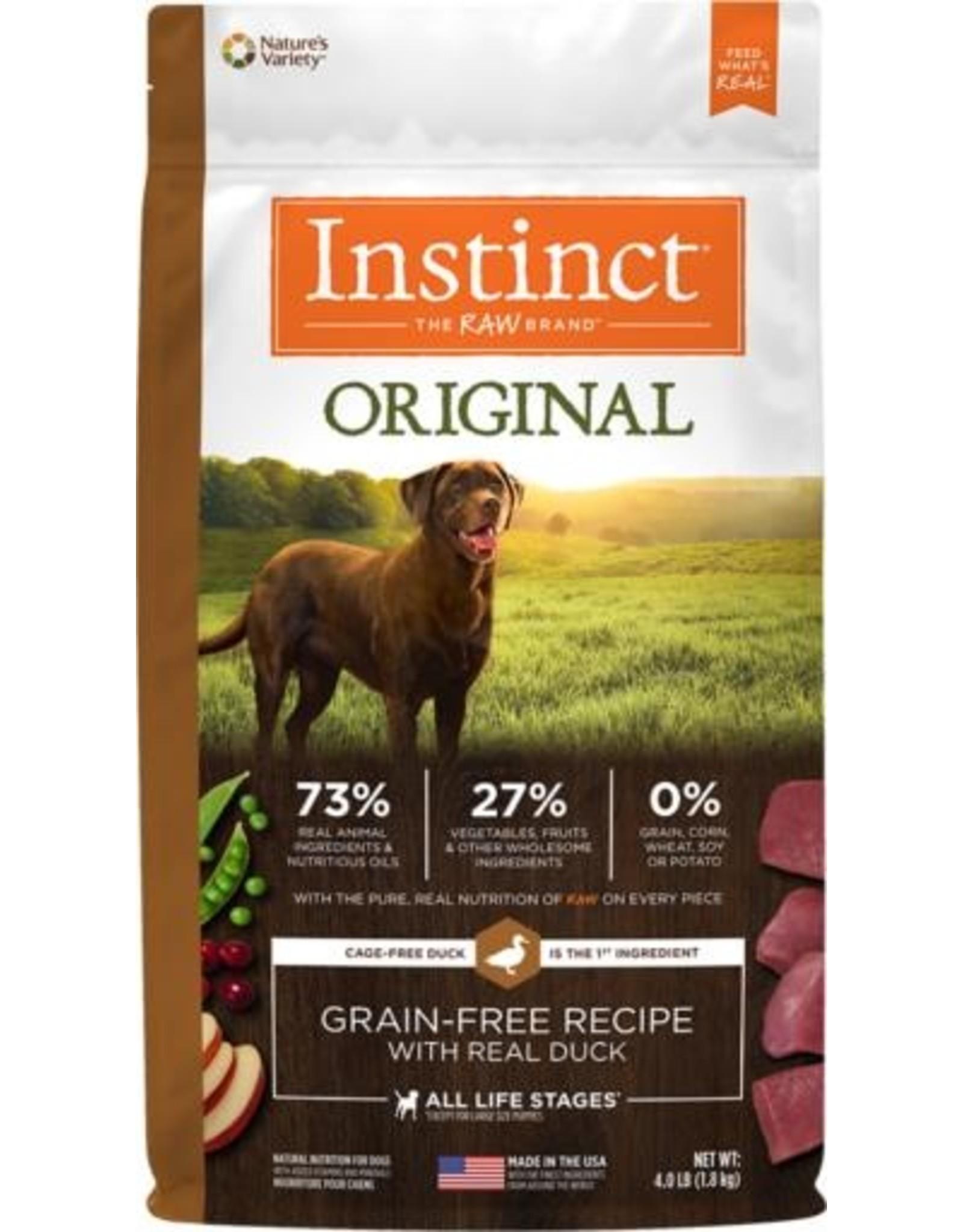 Natures Variety Instinct Original Grain-Free Recipe with Real Duck