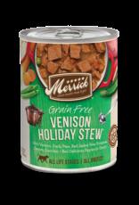 Merrick Merrick Grain-Free Holiday Venison Stew Dog Food 12.7oz
