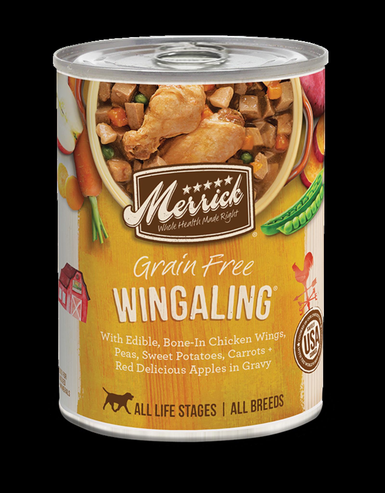 Merrick Merrick Grain-Free Wingaling in Gravy Dog Food 12.7oz