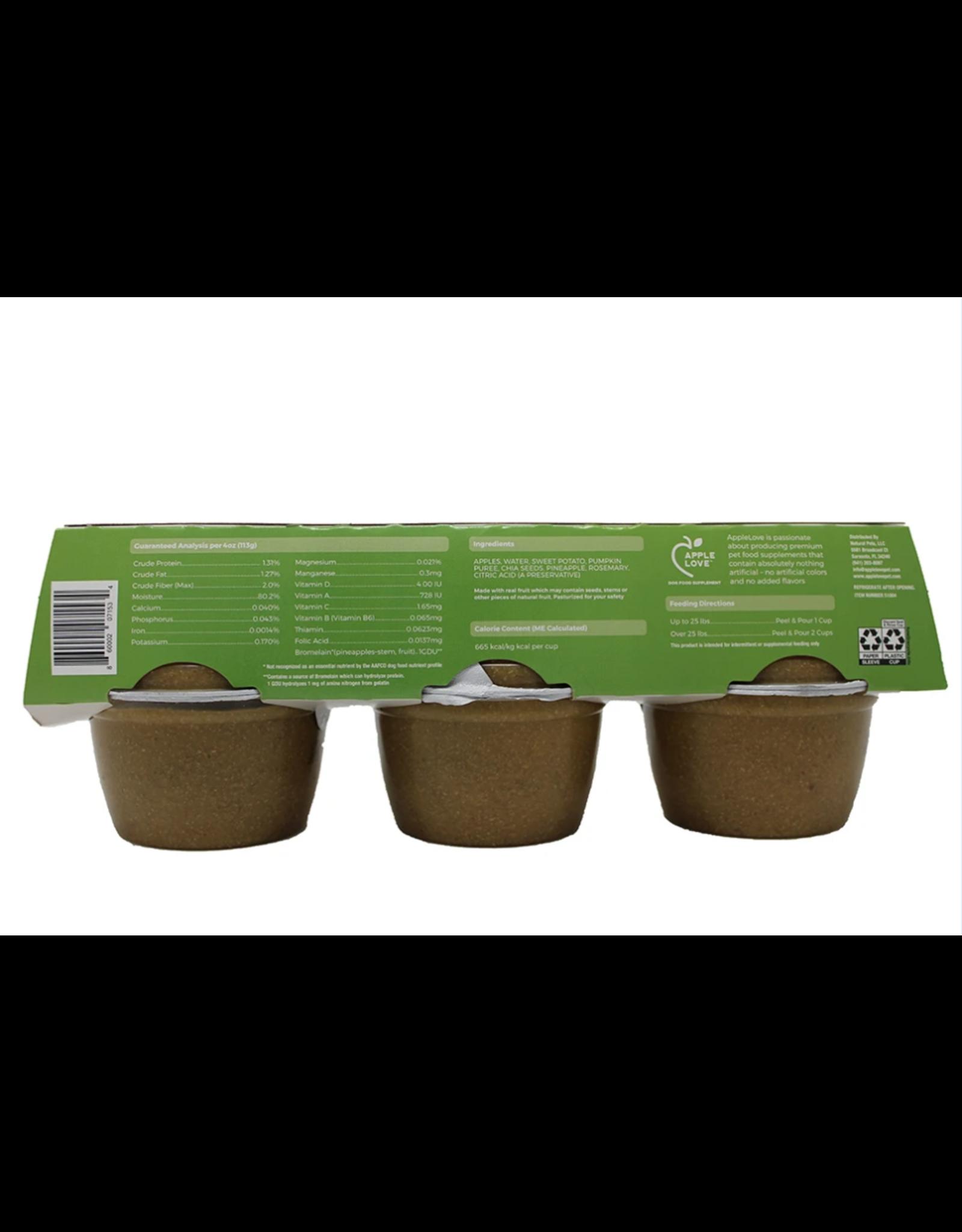 AppleLove AppleLove Dog Food Supplement Transition Blend 6-4oz