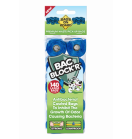 Bags On Board Bags On Board Bag Refill Blue 140ct
