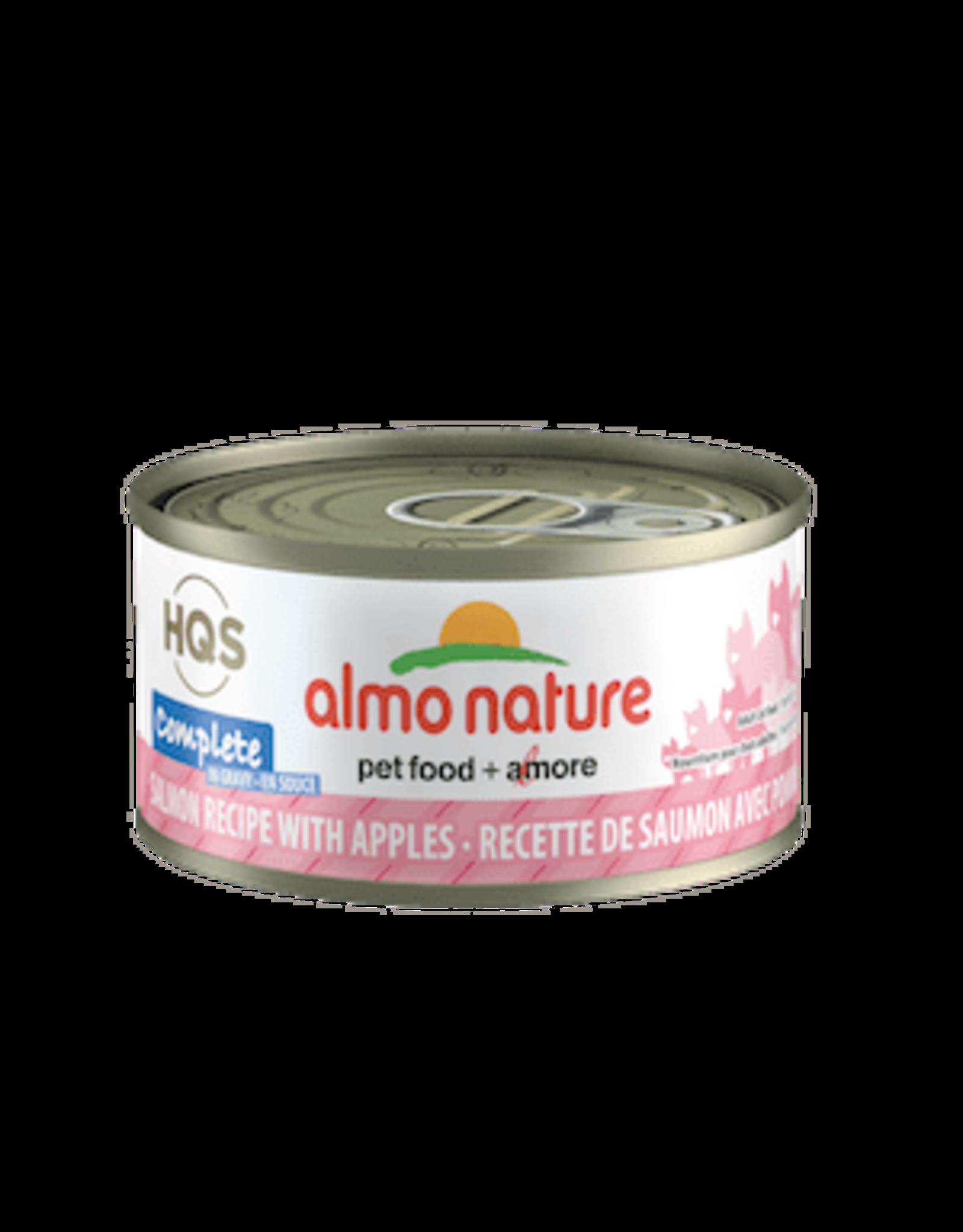 Almo Nature Almo Nature HQS Complete Salmon & Apple in Gravy Cat Food 2.47oz