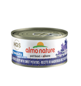 Almo Nature Almo Nature HQS Complete Mackerel & Sweet Potato in Gravy Cat Food 2.47oz