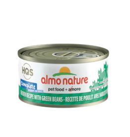 Almo Nature Almo Nature HQS Complete Chicken & Green Beans in Gravy Cat Food 2.47oz
