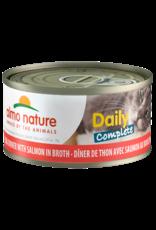 Almo Nature Almo Nature HQS Daily Complete Tuna w/Salmon in Broth Cat Food 2.47oz
