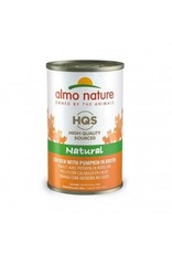 Almo Nature Almo Nature HQS Natural Chicken & Pumpkin in Broth Cat Food 4.94oz