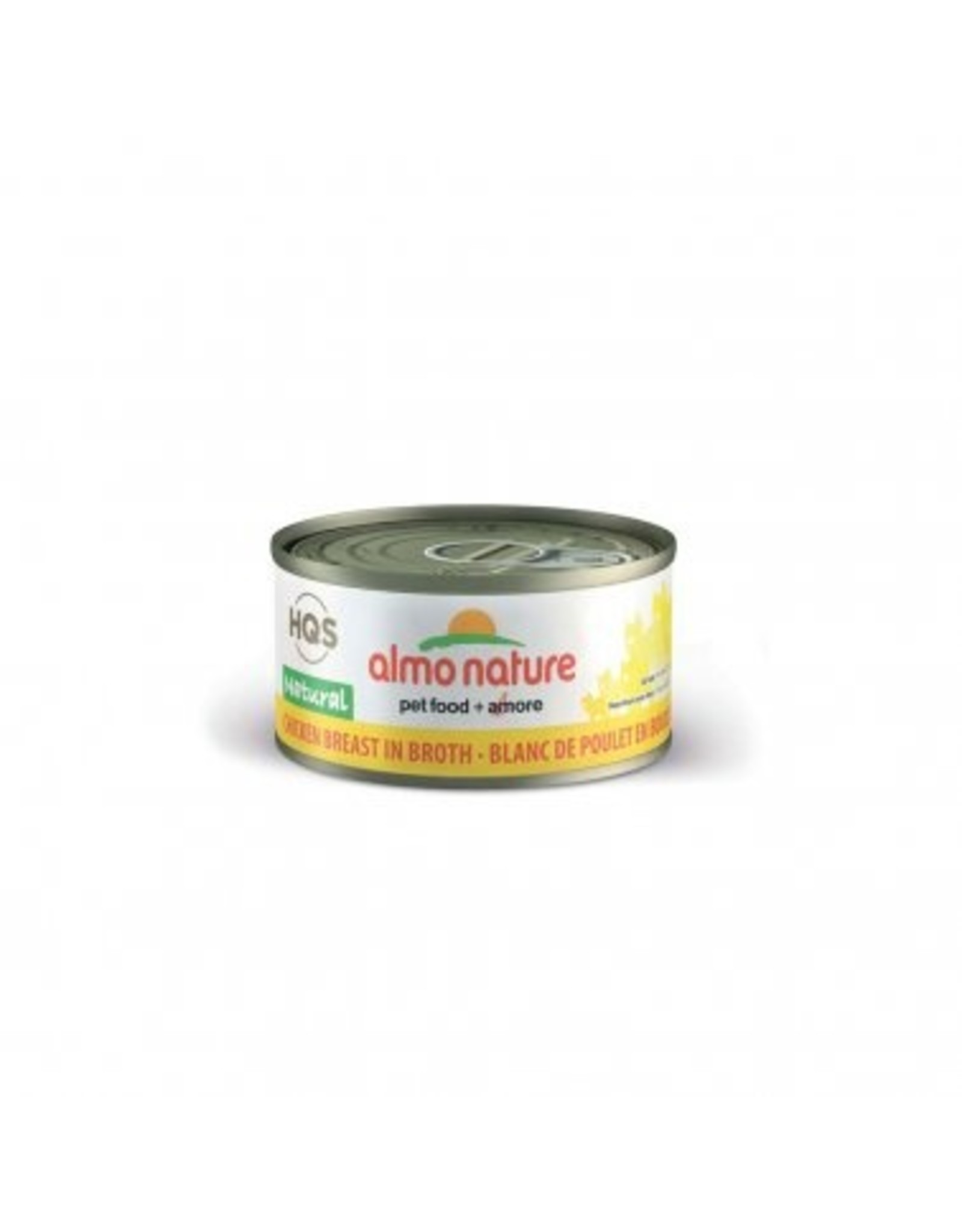 Almo Nature Almo Nature HQS Natural Chicken Breast in Broth Cat Food 2.47oz