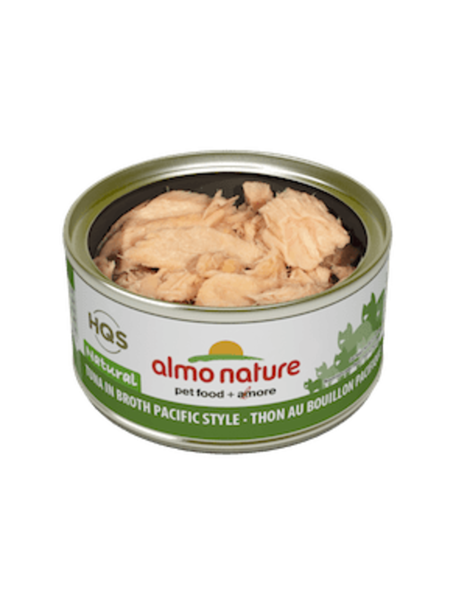 Almo Nature Almo Nature HQS Natural Tuna in Broth Pacific Style Cat Food 2.47oz