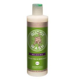 Cloud Star Buddy Wash 2 in 1 Green Tea & Bergamot Shampoo & Conditioner 16oz