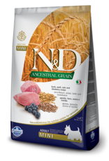Farmina N&D Farmina N&D Ancient Grain Lamb & Blueberry Adult Mini Dog Food