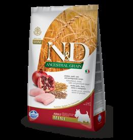 Farmina N&D Farmina N&D Ancestral Grain Chicken & Pomegranate Adult  Mini Dog Food