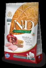 Farmina N&D Farmina N&D Ancestral Grain Chicken & Pomegranate Adult Med/Max Dog Food