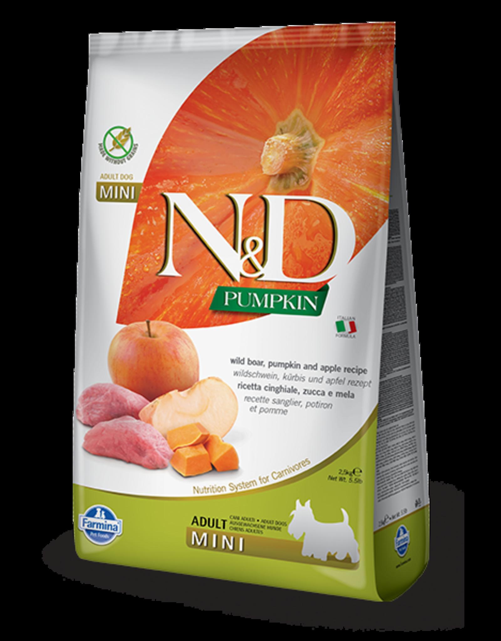 Farmina N&D Farmina N&D Pumpkin GF Boar, Pumpkin & Apple Adult Mini Dog Food