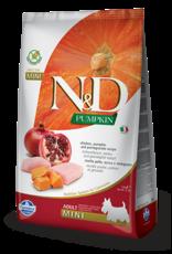 Farmina N&D Farmina N&D Pumpkin GF Chicken, Pumpkin & Pomegranate Adult Mini Dog Food